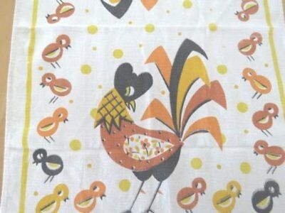 Vintage Kitchen Towel Chicks & Hen COLLECTOR 🐓🐣🐤🐥🥚