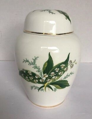 Hammersley Fine Bone China Ginger Jar Lily of the Valley