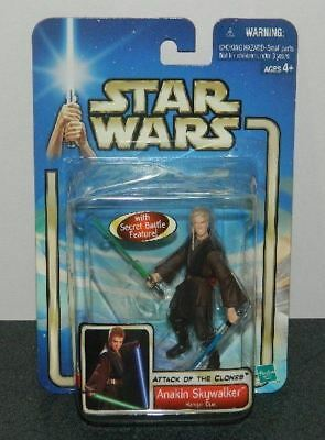 Star Wars Anakin Skywalker Hangar Duel Figure 2002 HASBRO #84605 SEALED MIB