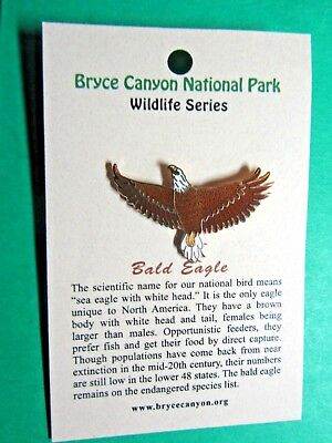 Bald Eagle Bryce Canyon National Park Wildlife Series Lapel Hat Pin (52)