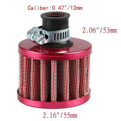 12mm Car Motor Cold Air Intake Filter Turbo Vent Crankcase Breather Air Filter