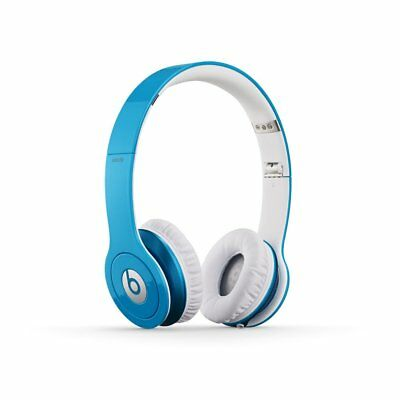 New OEM Beats by Dr. Dre Solo HD Wired On Ear Headphones -  Light Blue / WHITE