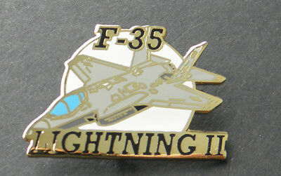 Us Usaf Air Force Aircraft F-35 Lightning Ii Lapel Pin Badge 1.25 Inches