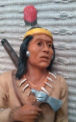 Castagna alibaster native American figurine.  Made in Italy. Top quality.