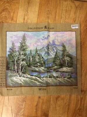 Tapestry Base Mountain Scene And Assorted Wools RRT $34.95