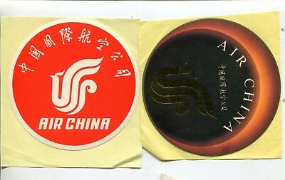 """#4263 FRAGILE Air China airlines large Luggage Label 22x6cm 9x2/"""" Decal STICKER"""