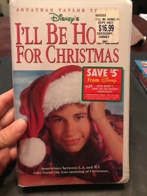 ill be home for christmas clamshell vhs tape movie jonathan taylor thomas - I Ll Be Home For Christmas Film