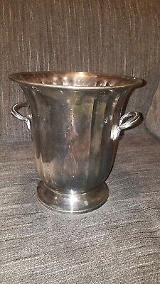Vintage Silver Plated Champagne Bucket USA Gorham Silver