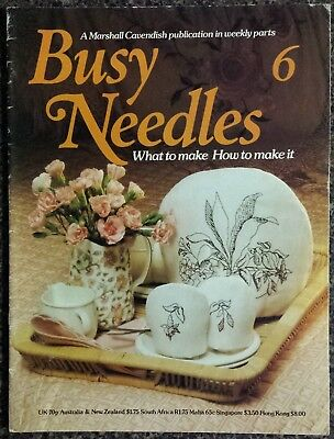 Busy Needles Magazine No.6 What to make, How to make it