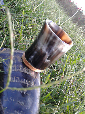 Viking Medieval Vintage Hand Made Beer Horn Mug Game of Throns Steins Tankard