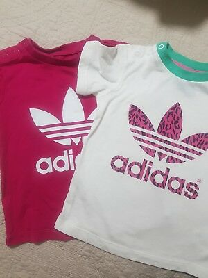 Adidas Girls Tops Size 12 to 18 months old