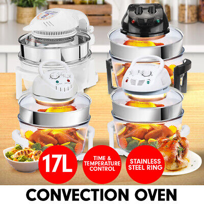 17L DIGITAL TURBO CONVECTION OVEN ELECTRIC COOKER AIR FRYER 1400W Heater