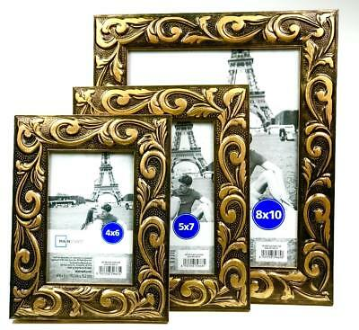 Ornate Gold Swirl Picture Frame