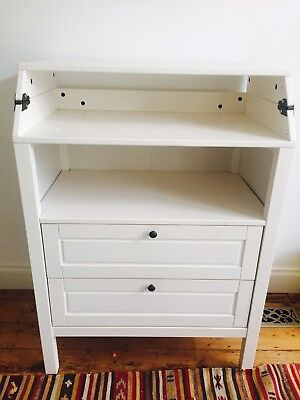 Sundvik Baby Nursery Change Table with Drawers