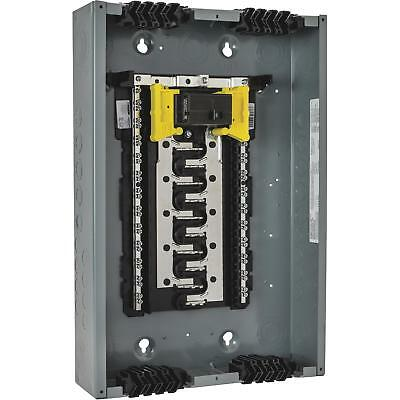 Square D Homeline Qwik-Grip 100A Main Breaker Plug-On Neutral Load Center
