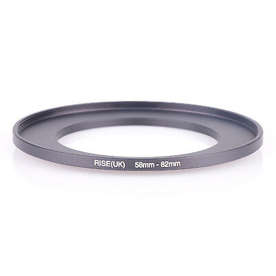 Step-up Ring Metal 58-82mm 58mm Lens to 82mm Filter 58-82 58mm-82mm Stepping