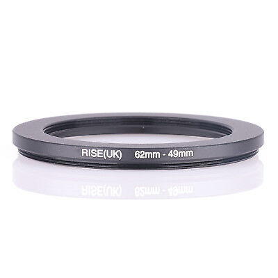 RISE (UK) 62-49MM 62MM-49MM 62 to 49 Step Down Ring Filter Adapter