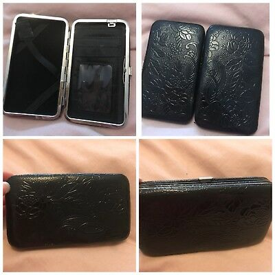 Black Brand New Used Once Phone Case Wallet
