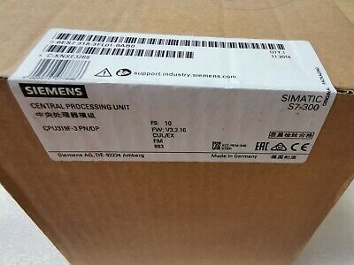 SIEMENS 6ES7318-3FL01-0AB0 6ES7 318-3FL01-0AB0  New in Box 1PCS