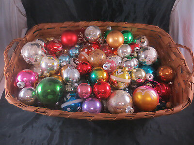 Riesiges Konvolut alte Christbaumkugeln Glaskugeln Christbaumschmuck Behang DDR