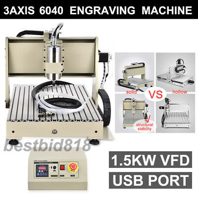 3 Axis Engraver Usb Cnc6040 Router Engraving Drilling Milling Machine 3D Cutter