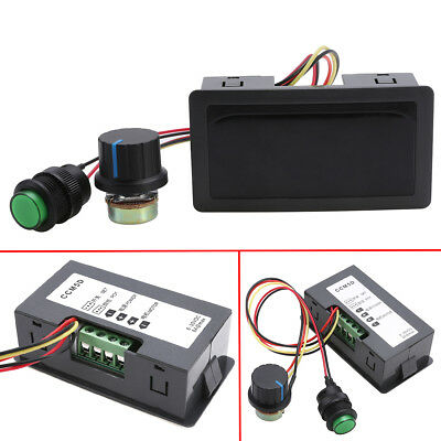 DC 6-30V 12V 24V 8A PWM Motor Speed Controller With Digital Display & Switch DIY