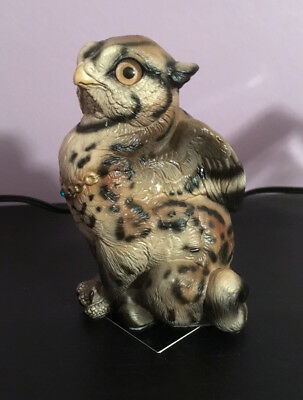WINDSTONE Sitting Griffin Chick – Ocelot - Melody Pena