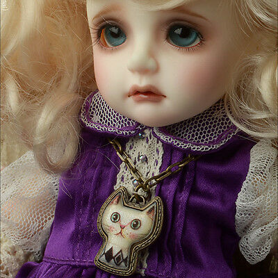 [Dollmore] BJD doll acc MSD & SD Size - Tidy Cat Necklace (Entique Gold)
