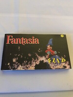NEW Disney's FANTASIA Animated Flip Book - two scenes