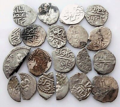 Mixed medieval silver coins In the lot 20 PCs