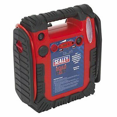 Sealey RoadStart Emergency Jump Starter & Power Pack 12V 750 Peak Amps - RS131