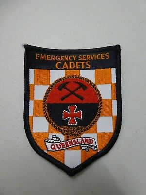 Emergency Services Cadets patch
