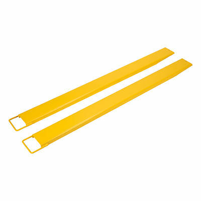 84x 5.5'' Firmly Pallet Fork Extensions for forklifts lift truck slide on steel