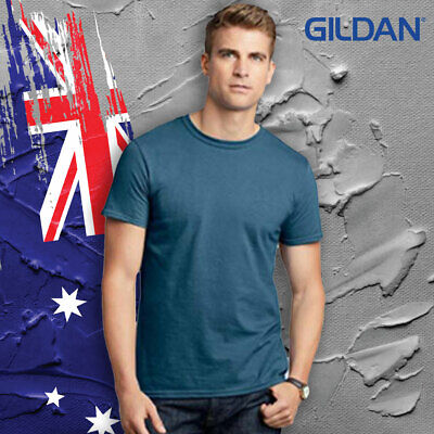 Gildan Soft Style Adult Tee 100% Ring Spun Cotton 153 GSM Various Colours