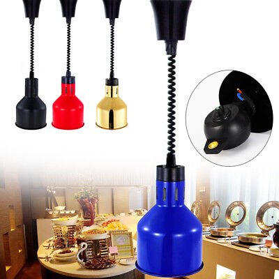 Food insulation lamps Food Warmer lamp Electric heating Light Resturant Buffet
