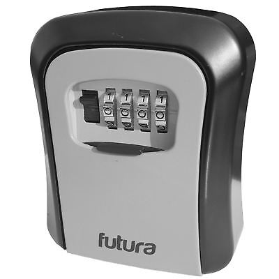 Genuine Futura Key Safe Wall Mounted Lock Box