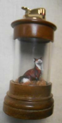 Rare Evans Lighter Red Fox Abacrombie & Fitch Hunting Exclusive