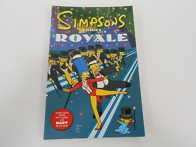 The Simpsons Comics Royale - First Edition Graphic Novel, 2001