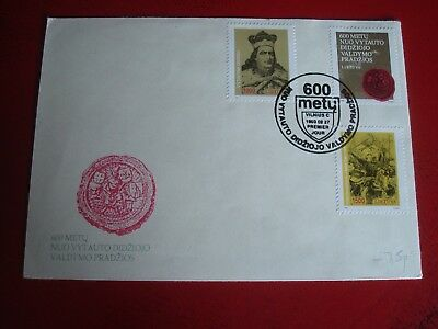 Lithuania - 1992 - First Day Cover -  Ex. Condition