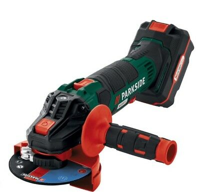 Parkside 20V Cordless Angle Grinder with Battery & Charger - PWSA 20-LiB2