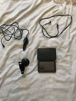 Garmin Sat Nav With Leather Case, Holder, Usb Cable & Port Charger