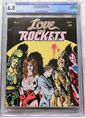 Love and Rockets (1982) #1 CGC 6.0 F 1st Hopey, Luba, Maggie - FIRST PRINTING