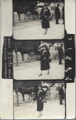 Carte Photo - Cinéphoto AKICE NICE - Promeneuse