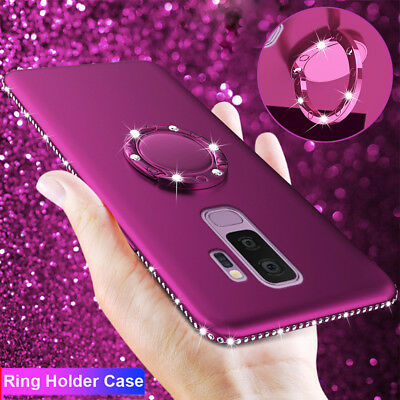Bling Diamond Silicone Shockproof Case for SAMSUNG GALAXY N9 8/S8 S9 Stand Cover