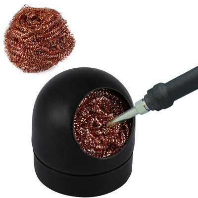 Soldering Solder Iron Tip Cleaner Steel Cleaning Wire Ball Heavy Duty Welding DT