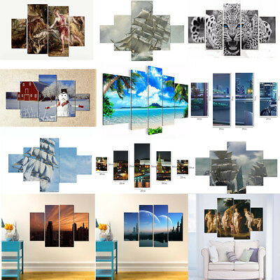 Unframed Oil Painting Picture Abstract Art Canvas Print Home Wall Decor