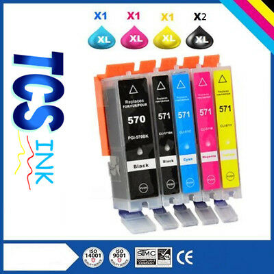 Cartouches d'encre compatible 570/571 pour canon.MG 5750/MG5751 / MG5752 / MG575