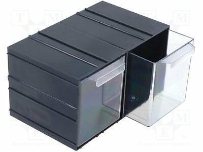 Set with drawers; Drawers no.in module: 2; Module: black; W: 230mm[1 pcs]
