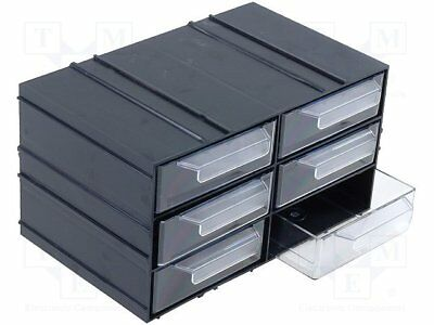 Set with drawers; Drawers no.in module:6; 230x142x125mm (1 pcs)