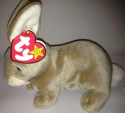 Ty Nibbly The Bunny Rabbit Easter Beanie Baby Retired 1999 New Stuffed Animal!